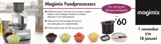 Magimix banner consumentenactie NOV FP