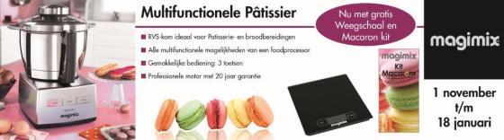 Magimix banner consumentenactie NOV Patissier